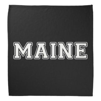 Maine Bandana
