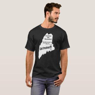 Maine Bernie Continue the Revolution T-Shirt
