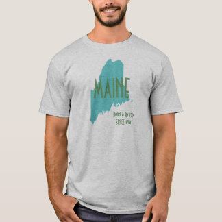 Maine Born & Raised T-Shirt