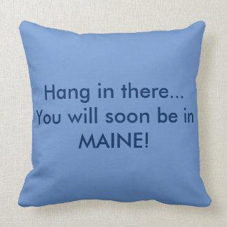 """Maine """"Bubble Rock"""" Pillow"""