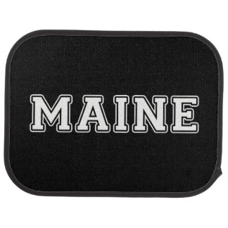Maine Car Mat
