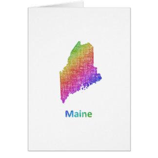 Maine Card