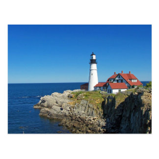 Maine Coastal Lighthouse Postcard