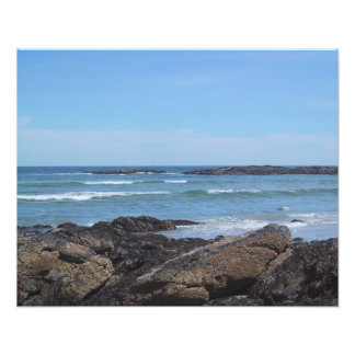 Maine Coastline Photo Print