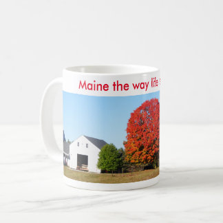 Maine coffee cup