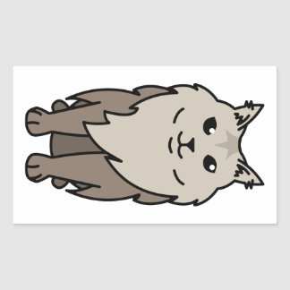 Maine Coon Cat Cartoon Sticker