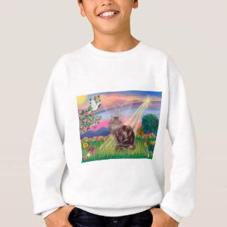 Maine Coon Cat  - Cloud Angel Sweatshirt