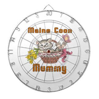 Maine Coon Cat Mom Dartboard