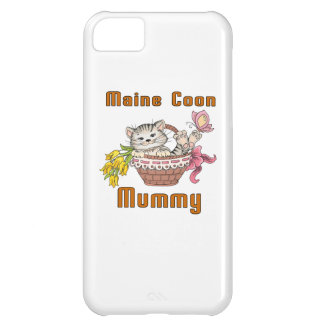 Maine Coon Cat Mom iPhone 5C Covers