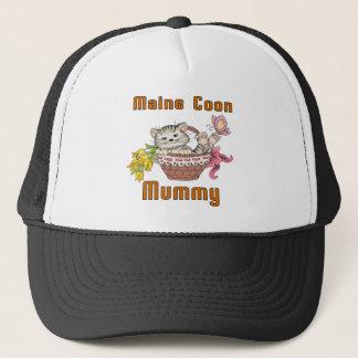 Maine Coon Cat Mom Trucker Hat