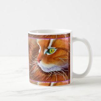 Maine Coon Cat Whiskers Coffee Mug
