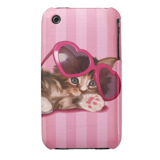 Maine Coon kitten iPhone 3 Case-Mate Cases