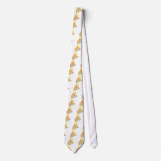 Maine County Map Tie