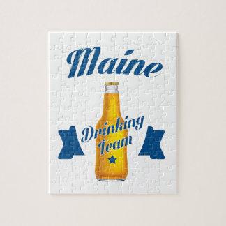 Maine Drinking team Jigsaw Puzzle