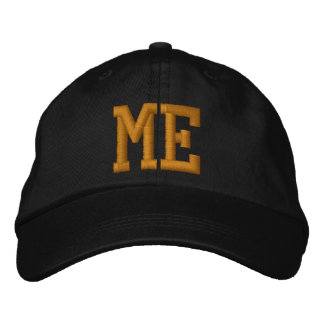 Maine Embroidered Baseball Cap