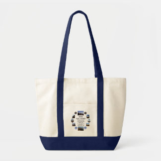 Maine Light Houses Tote Bag