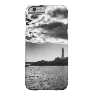 Maine Lighthouse Black & White iPhone/iPad Case