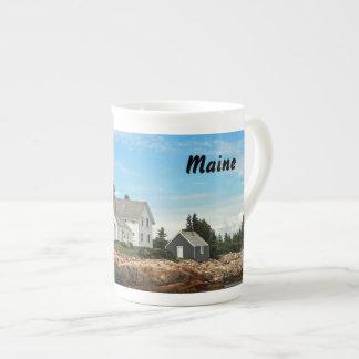 Maine Lighthouse Tea Cup