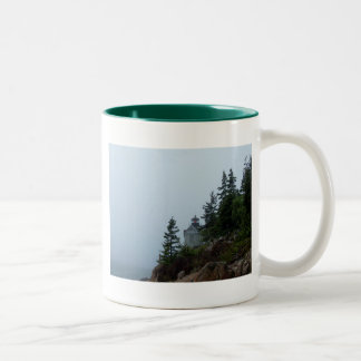 Maine Lighthouse Two-Tone Coffee Mug