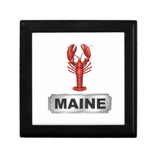Maine lobster gift box