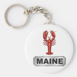 Maine lobster keychain