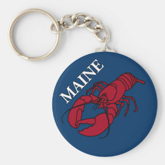 Maine Lobster Keychain