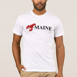 Maine Lobster Mens T-shirt