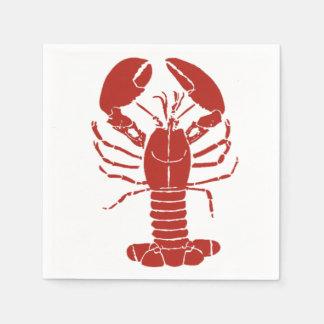 Maine Lobster Napkins Disposable Napkin