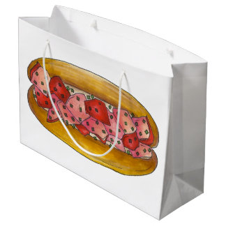 Maine Lobster Roll Sandwich Seafood Portland Food Large Gift Bag