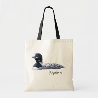 Maine Loon Tote Bag