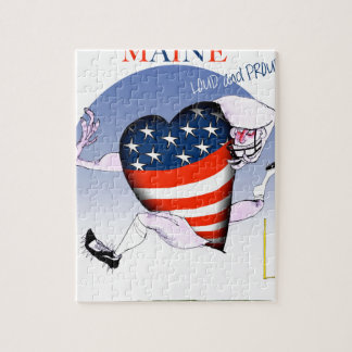 maine loud and proud, tony fernandes jigsaw puzzle
