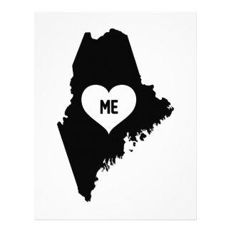 Maine Love Letterhead