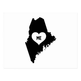 Maine Love Postcard