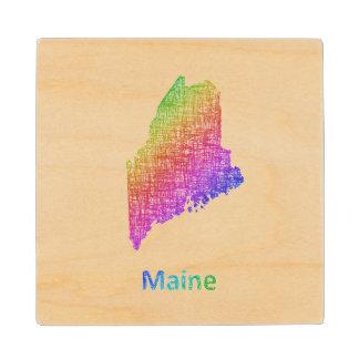 Maine Maple Wood Coaster