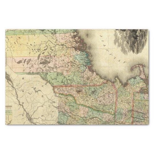 Maine, New Hampshire, Vermont, Massachusetts Tissue Paper