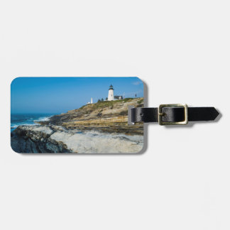 Maine, Pemaquid Point, Pemaquid Point Lighthouse Luggage Tag