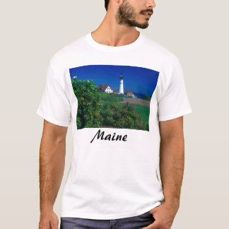 Maine Portland Head Lighthouse T-Shirt