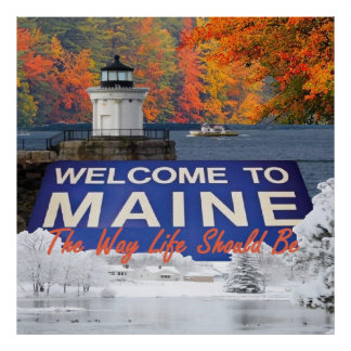 MAINE POSTER