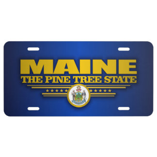 Maine Pride License Plate