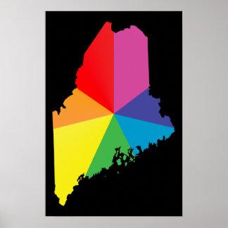 maine pride. poster