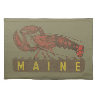 Maine Red Lobster Placemat
