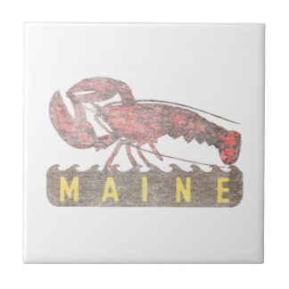 Maine Red Lobster Tile