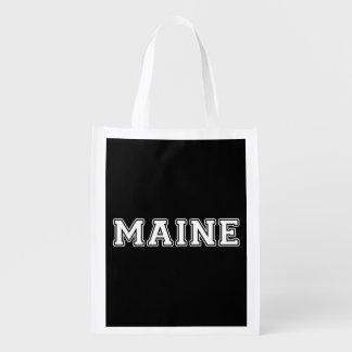 Maine Reusable Grocery Bag