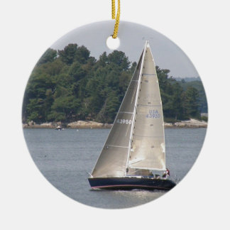 Maine Sailing Ornament