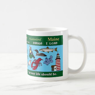 Maine State Commemorative Mug