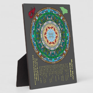 Maine State Mandala Plaque