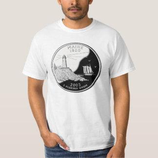 Maine State Quarter T-shirt