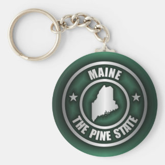 """Maine Steel 2"" Keychains"