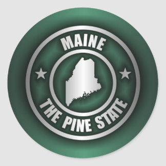 """Maine Steel 2"" Stickers"