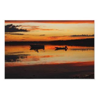 Maine Sunset photo